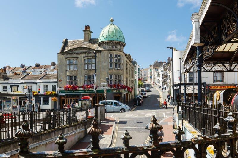 Здание полных, Смита и тернера в Брайтоне, Великобритании стоковая фотография