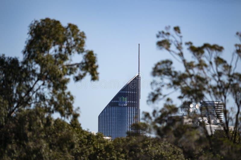 Здание правительства Брисбена стоковая фотография rf