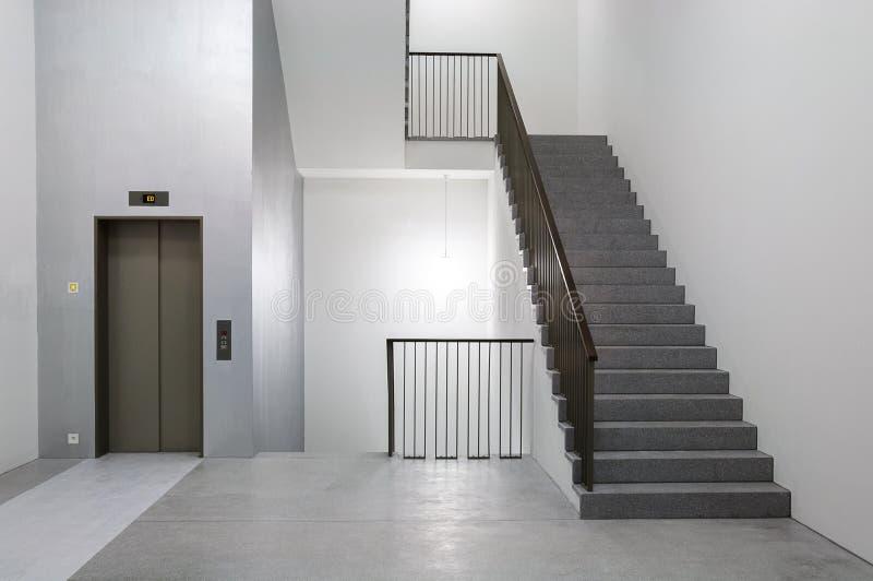 Здание самомоднейшего зодчества минималист стоковое изображение rf