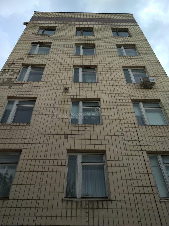 Здание санатория в Одессе, Украине стоковое изображение rf
