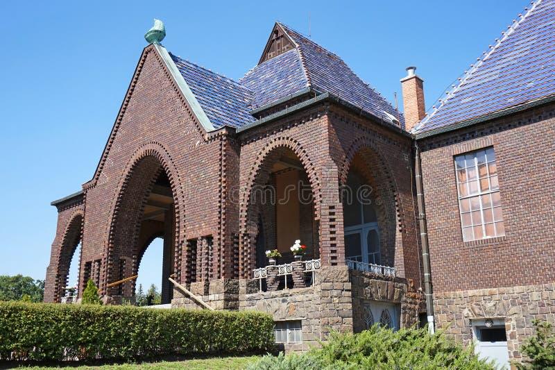 Здание стены крематорий стоковые фото