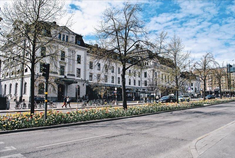 Здание Стокгольма стоковое фото rf