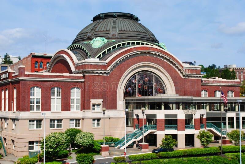здание суда федеральный tacoma стоковые фото