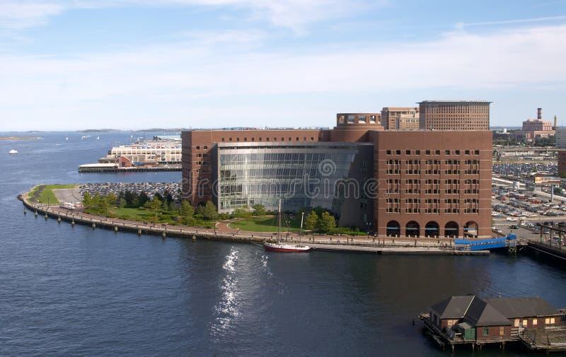 здание суда boston федеральное стоковое фото