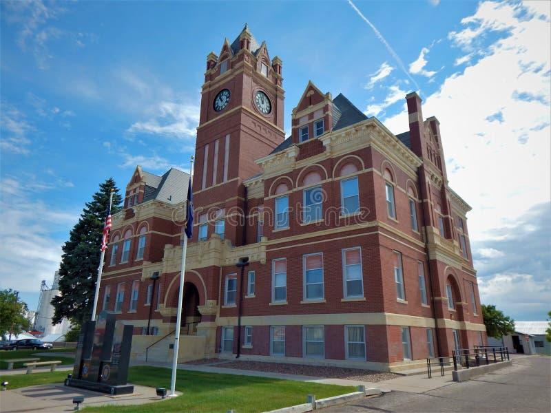 Здание суда Colby Канзас Thomas County стоковая фотография rf