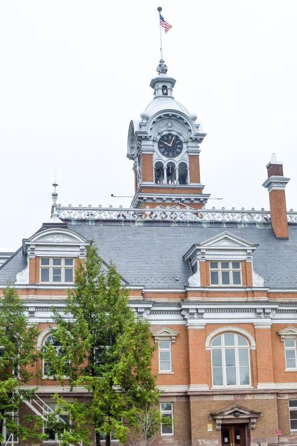Здание суда Lincoln County - Merrill, Висконсин стоковые изображения rf