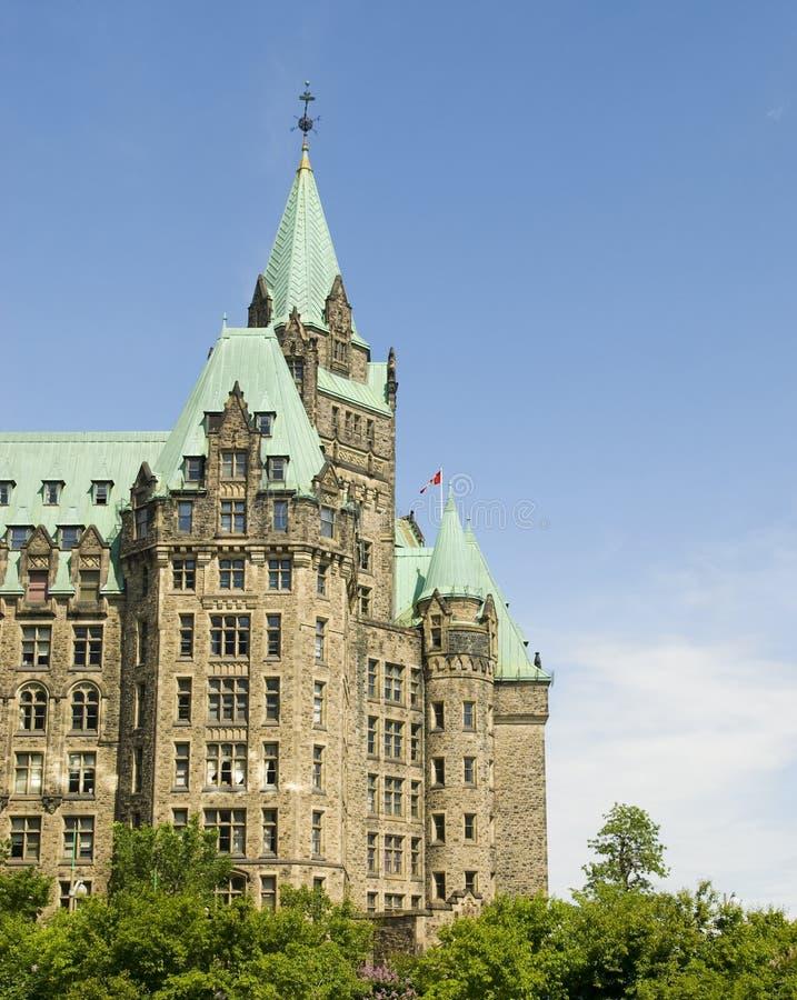 здание суда ottawa Канады стоковое фото