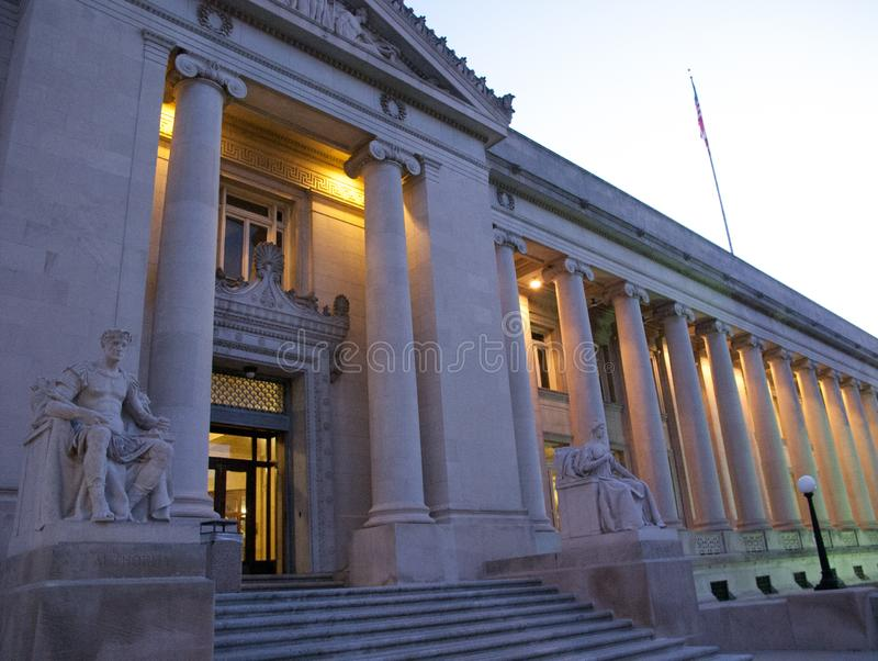 Здание суда Shelby County, Мемфис, TN стоковое фото rf