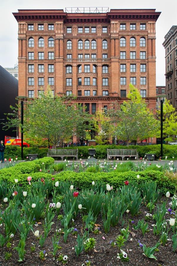 Здание Филадельфия фондовой биржи стоковое изображение rf