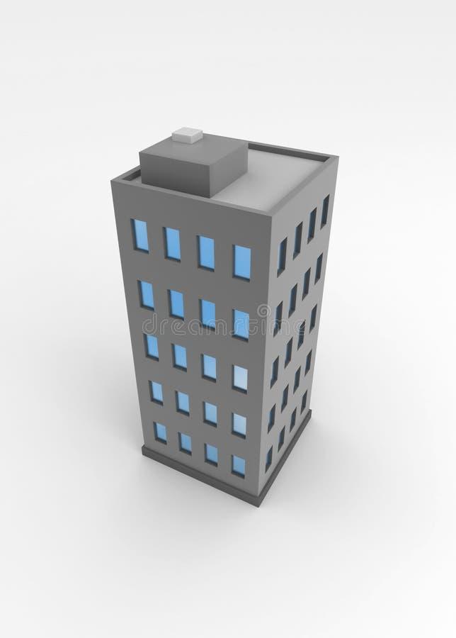 здание иллюстрация штока
