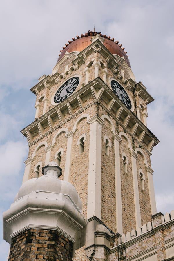 Здание Abdul Samad султана, Куалаа-Лумпур стоковое фото