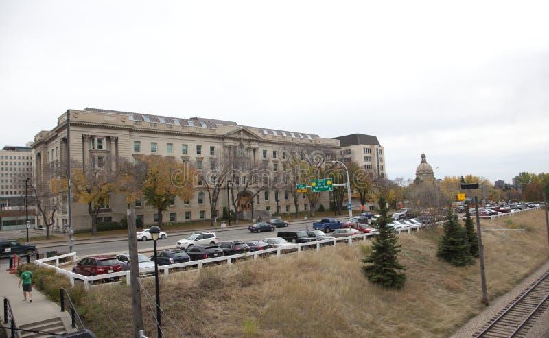 Здание Bowker, Эдмонтон, Альберта Канада стоковые фотографии rf