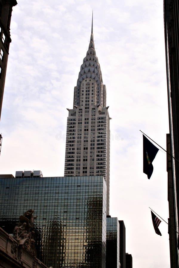 здание chrysler стоковая фотография