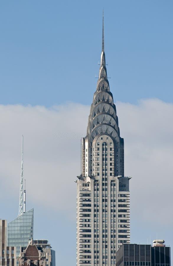 здание chrysler стоковое фото rf