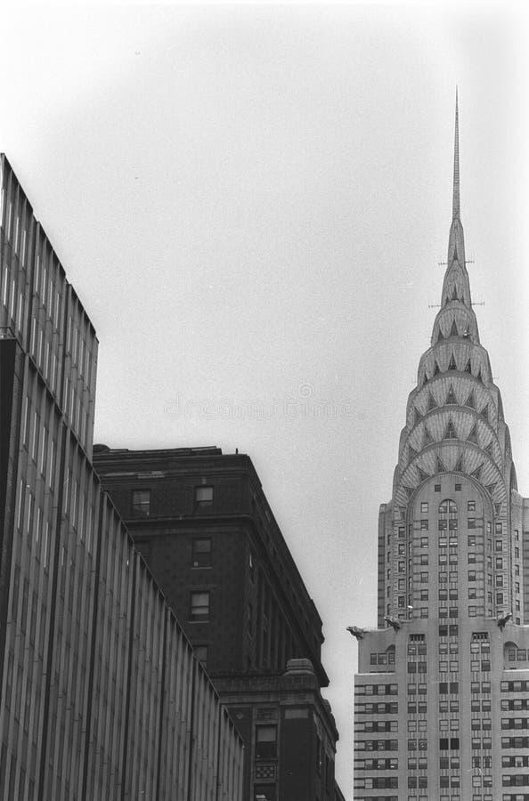 здание chrysler стоковая фотография rf