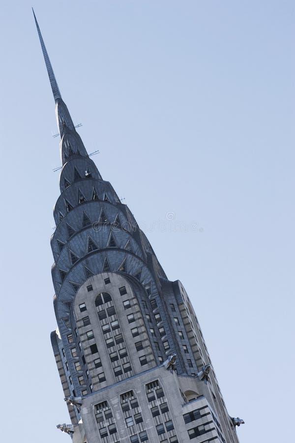 здание chrysler стоковые фото