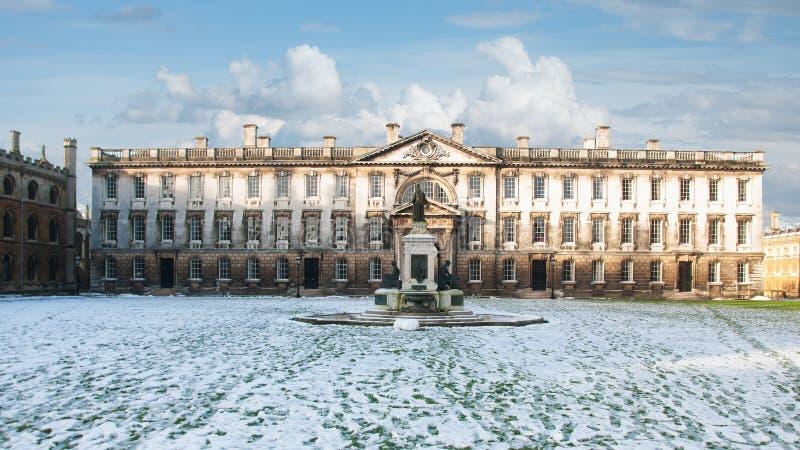 Здание Gibb, Кембриджский университет, Англия стоковое изображение rf