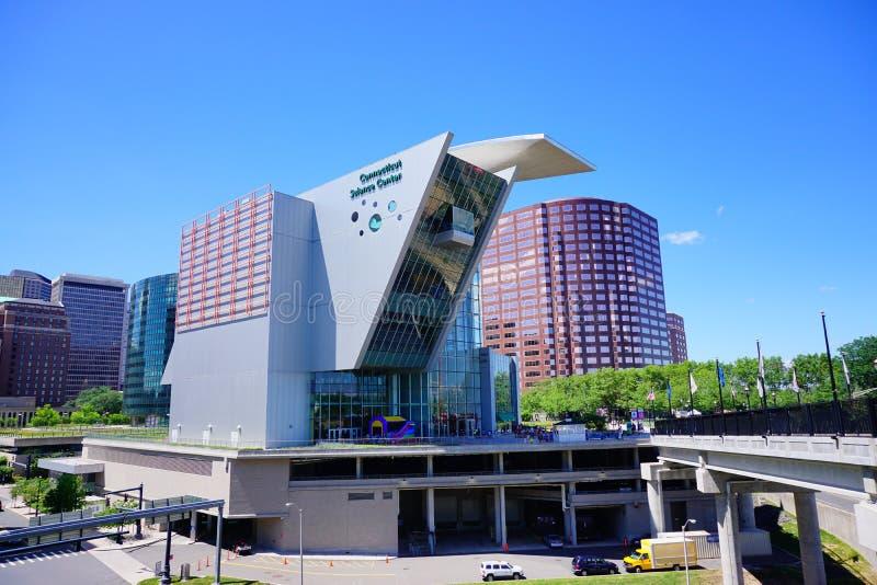 Здание Hartford городское: центр науки стоковые изображения rf