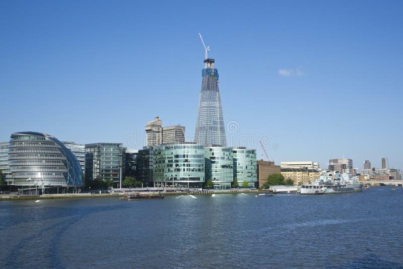 здание london самый высокорослый стоковое изображение