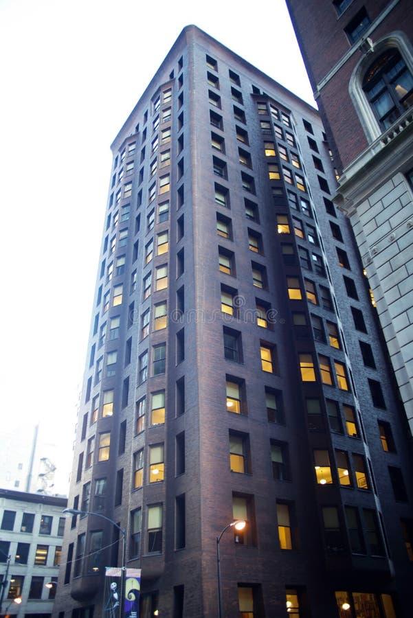 Здание Marquette, Чикаго, Иллинойс стоковые изображения rf