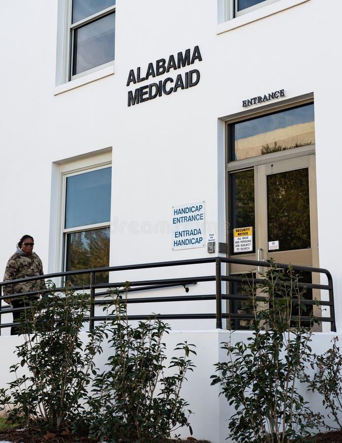 Здание Medicaid AL стоковое изображение