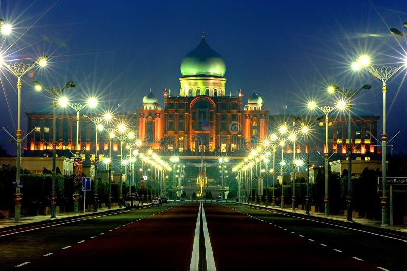 Здание Perdana Putra стоковые фото