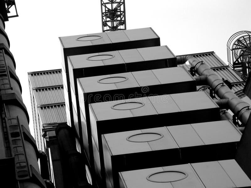 Здание Starnge Стоковое фото RF