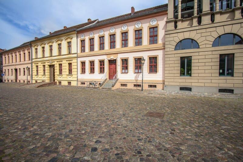 Здания в стиле archirecture tradidional европейском в Потсдаме стоковая фотография rf