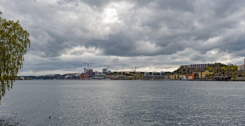 Здания и архитектура Стокгольма стоковые изображения rf