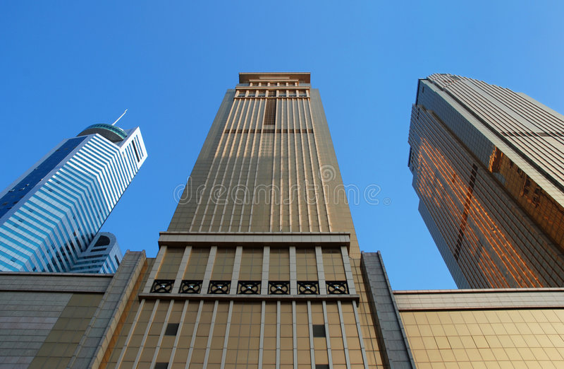 здания коммерчески стоковое фото rf