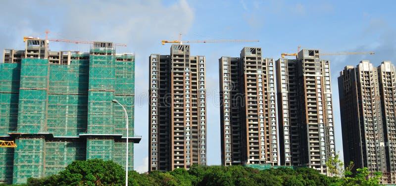 Здания нового дома стоковое изображение