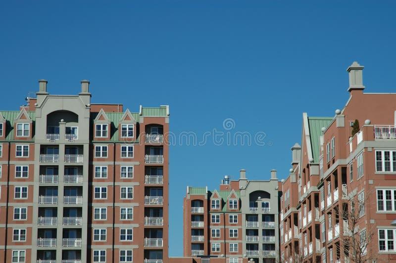 здания новые стоковое изображение