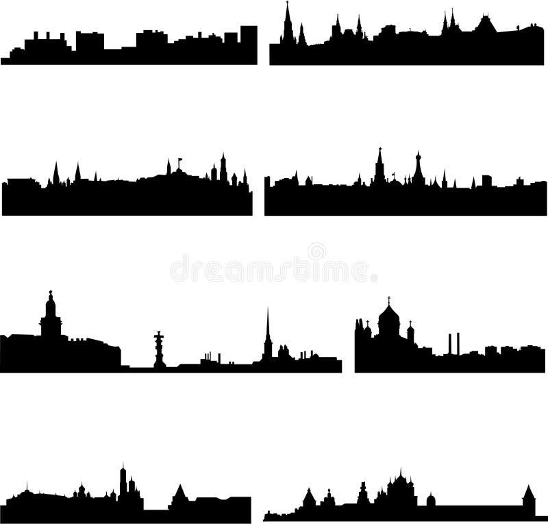 здания русские бесплатная иллюстрация
