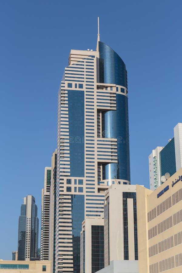 здания самомоднейшие Дубай был самым быстрым превращаясь городом в w стоковое изображение