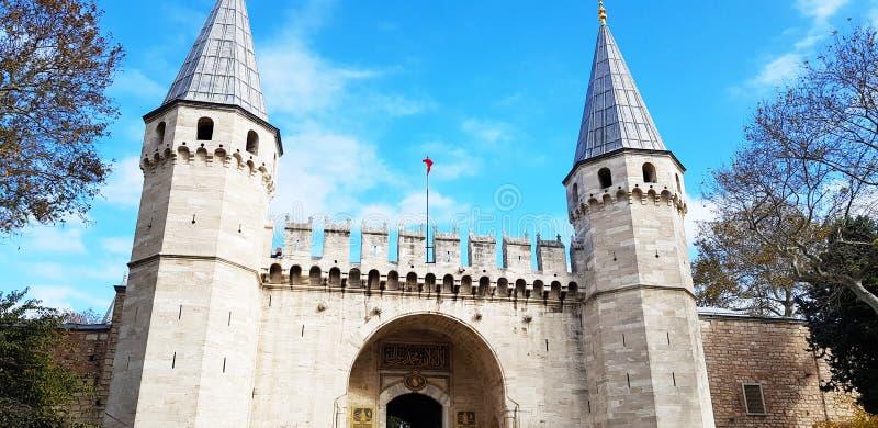 Здания Турции Стамбула исторические стоковое изображение rf