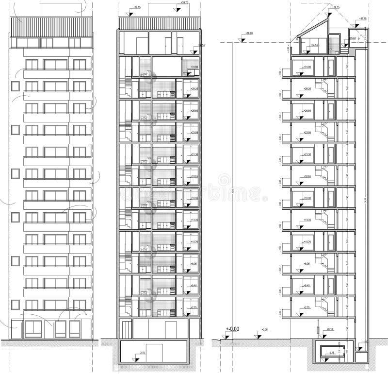 здания иллюстрация вектора