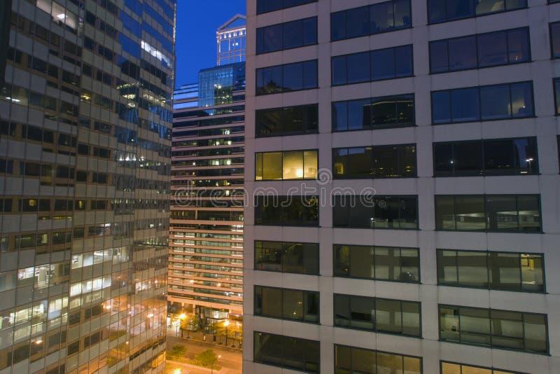 здания chicago городской стоковые фото