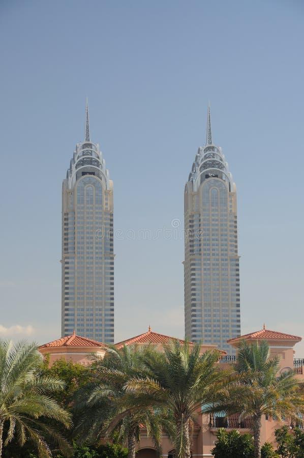 здания chrysler Дубай стоковое фото rf