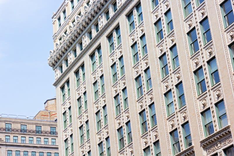 Здания downtowm DC Вашингтона исторические стоковые изображения rf