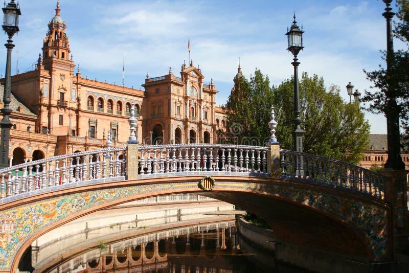 здания seville стоковая фотография rf