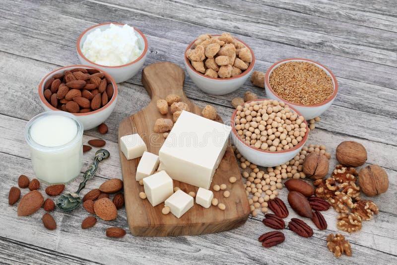 Здоровая еда для Vegans стоковые изображения