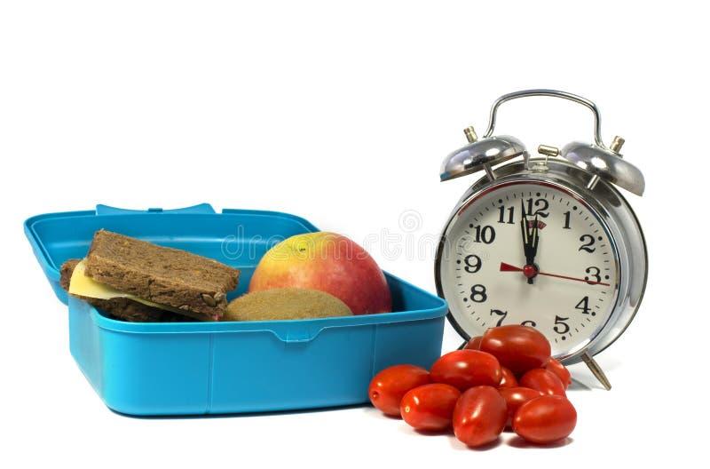 Здоровое обеденное время стоковое изображение