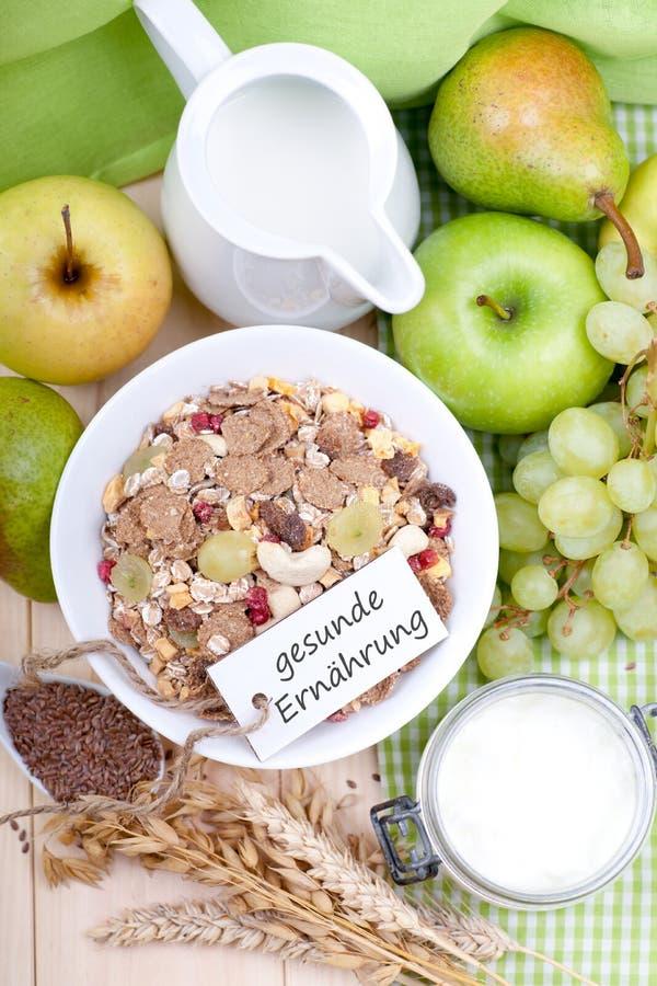 Здоровое пищеварение стоковое изображение