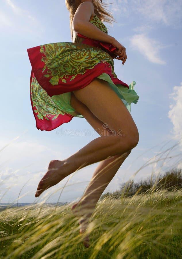 здоровый бег стоковая фотография rf