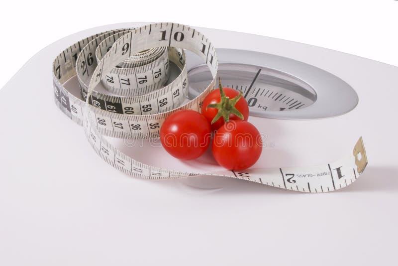 здоровый вес потери идеи стоковая фотография