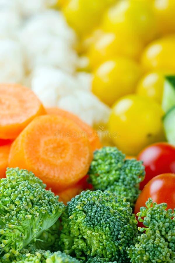 Здоровый крупный план овощей стоковые фотографии rf