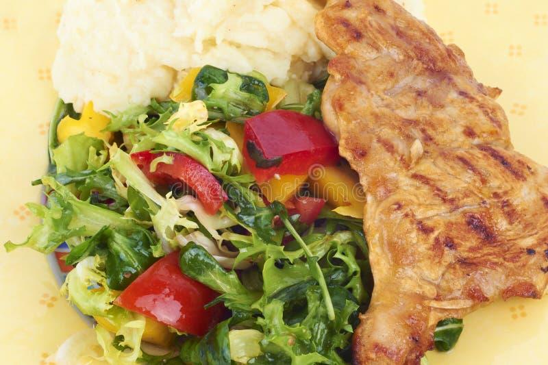 здоровый салат еды стоковое фото rf