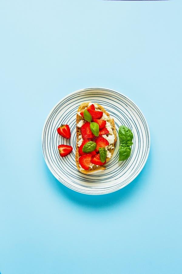 Здоровый состав завтрака стоковые фотографии rf