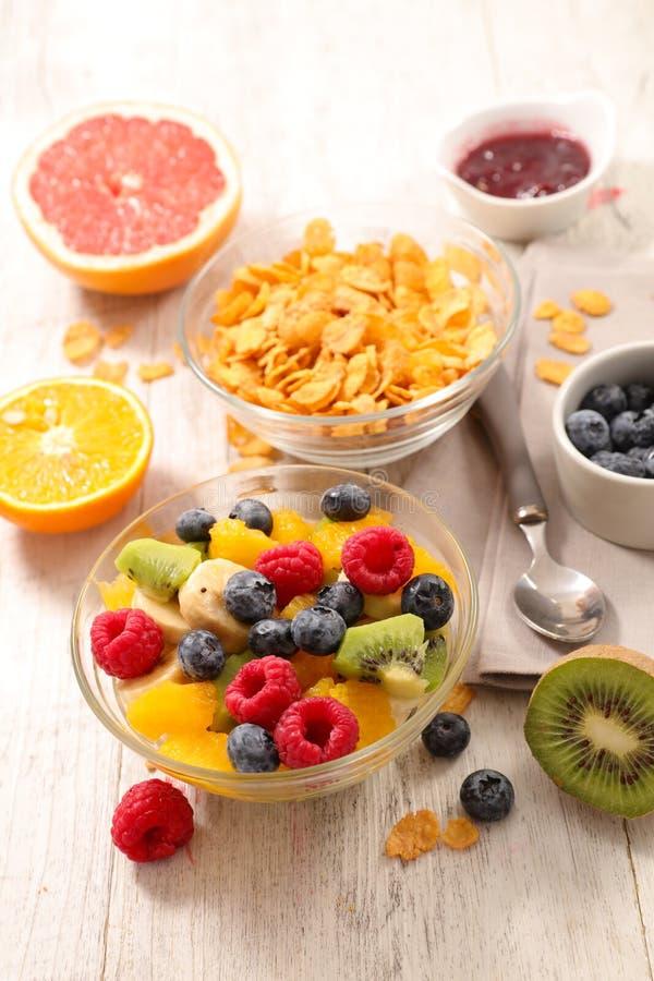 Здоровый состав завтрака стоковая фотография rf