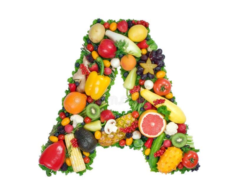 здоровье алфавита стоковое изображение